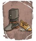 Zapatos y Botas Medievales